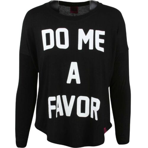 Married To The Mob Women Do Me A Favor Long Sleeve Tee black