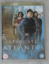Stargate Atlantis Season 2 Due Completo Box DVD Set nuovissimo R2 UK