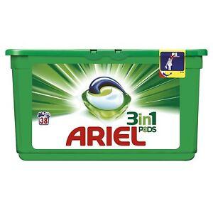 Ariel-3-in-1-Regular-Liquitabs-Bio-Washing-Detergent-Cleaning-Pods-38-Washes