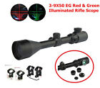 Hunting Scope 3-9x50E Red Green Dot Illuminated Airsoft Sight