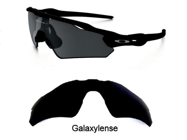 4decb59cf63 Galaxy Replacement Lenses For Oakley Radar EV Path Sunglasses Black  Polarized