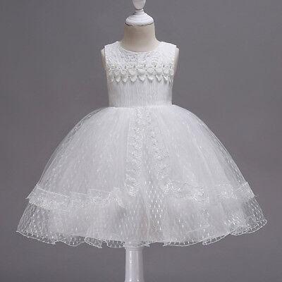 Vestidos Ropa de Moda Para Niña Casuales Elegante Encaje Linda de princesa