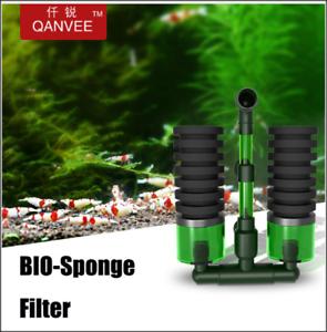 QANVEE-Bio-Sponge-Filter-for-Shrimp-Fish-Aquarium-BioSpon-Crystal-Red-Cherry-RCS