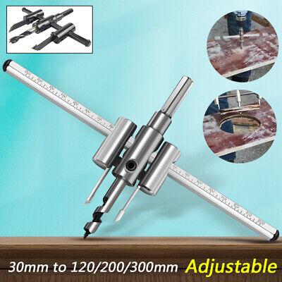 Verstellbarer Kreisschneider mit Doppelschneiden 40-300 mm Lochschneider