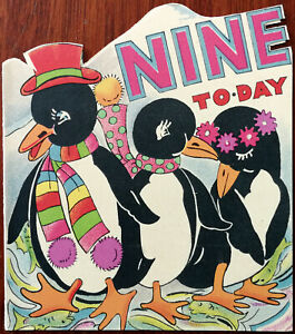 Nine-Today-Mia-Cards-Vintage-Birthday-Card-with-Penguin-Design