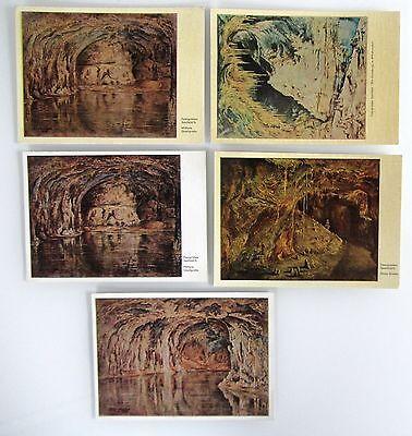 Sonderabschnitt 5x Ddr Postkarte Feengrotte Saalfeld Thüringen (ungelaufen) 50/60er Jahre Moderater Preis