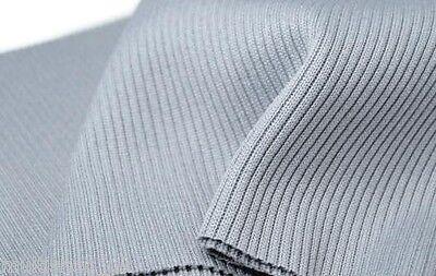 14 cm x 80 cm Elastic rib knit fabric*cuffs*waistband knitted fabric*trim*jersey