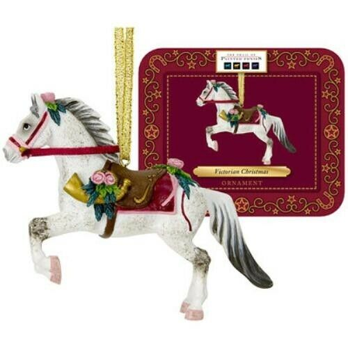 Trail of Painted Ponies Traditional Victorian Christmas Hanging Decoration