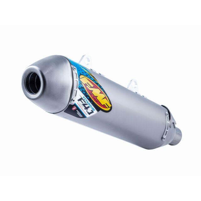 FMF Titanium Factory 4.1 RCT Slip-On Muffler Ktm 250 450 Sxf 500 exc-f 16-18