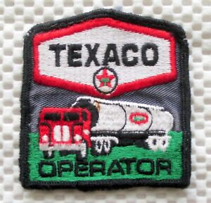 TEXACO-GAS-OIL-SEW-ON-PATCH-OPERATOR-TANK-TRUCK-VINTAGE-COLLECTIBLE-2-3-4-034-x-3-034