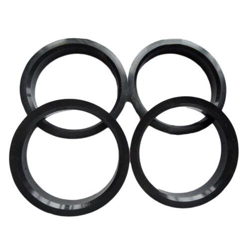 VOLKSWAGEN Zentrierungsringe Alufelgen 4x Zentrierringe 71,6-57,1 mm für AUDI