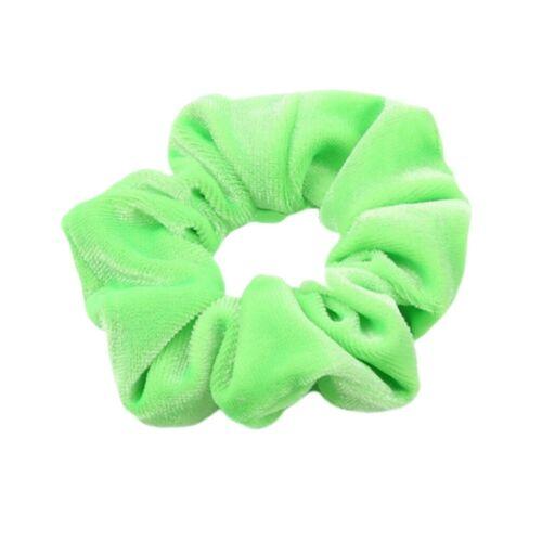30pcs Samt Groß Haargummis Gummibänder Haarbänder Seile für Damen