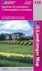 Newtown and Llanidloes by Ordnance Survey (Sheet map, folded, 2002)