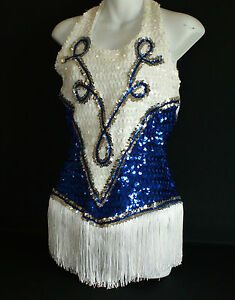 Dance-outfit-with-halter-neck-fully-sequined-Would-work-for-twirlers