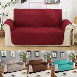 Sofa Covers Quilted Throw Washable Anti-slip Cover Couch Furniture Protector Pet