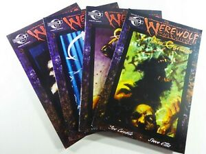 Moonstone-WEREWOLF-APOCALYPSE-2001-1-4-HORROR-Lot-VF-to-VF-NM-Ships-FREE
