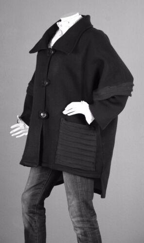 Splendida 46 Pullover 48 Cardigan Poncho giacca 1 Overwrap 100 Lagenlook Cape U47dZcwq