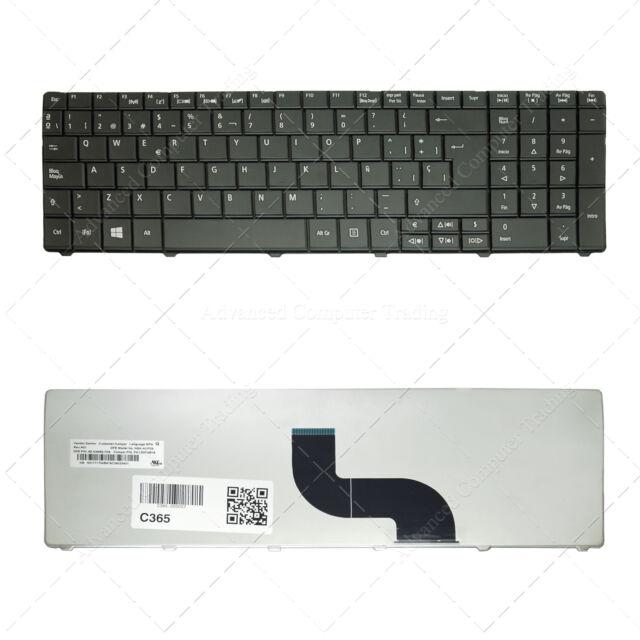 Spanish Keyboard for Acer MP-09G36E0-6981W PK130PI1B18 | Black Ver.3