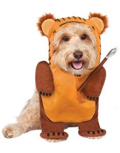 Details About Star Wars Running Hunter Ewok Pet Dog Cat Halloween Costume