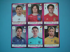 Panini Sammelbilder der Euro 2012 in Polen/Ukraine