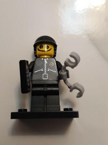Lego Minifigura Serie 1 Lego la película Garabato cara//policía malo Completo