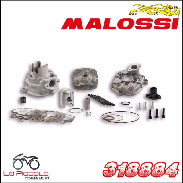 318884 Malossi Grupo Térmico MHR Team Ø40 50CC T/S Piaggio Gilera 50LC H2O