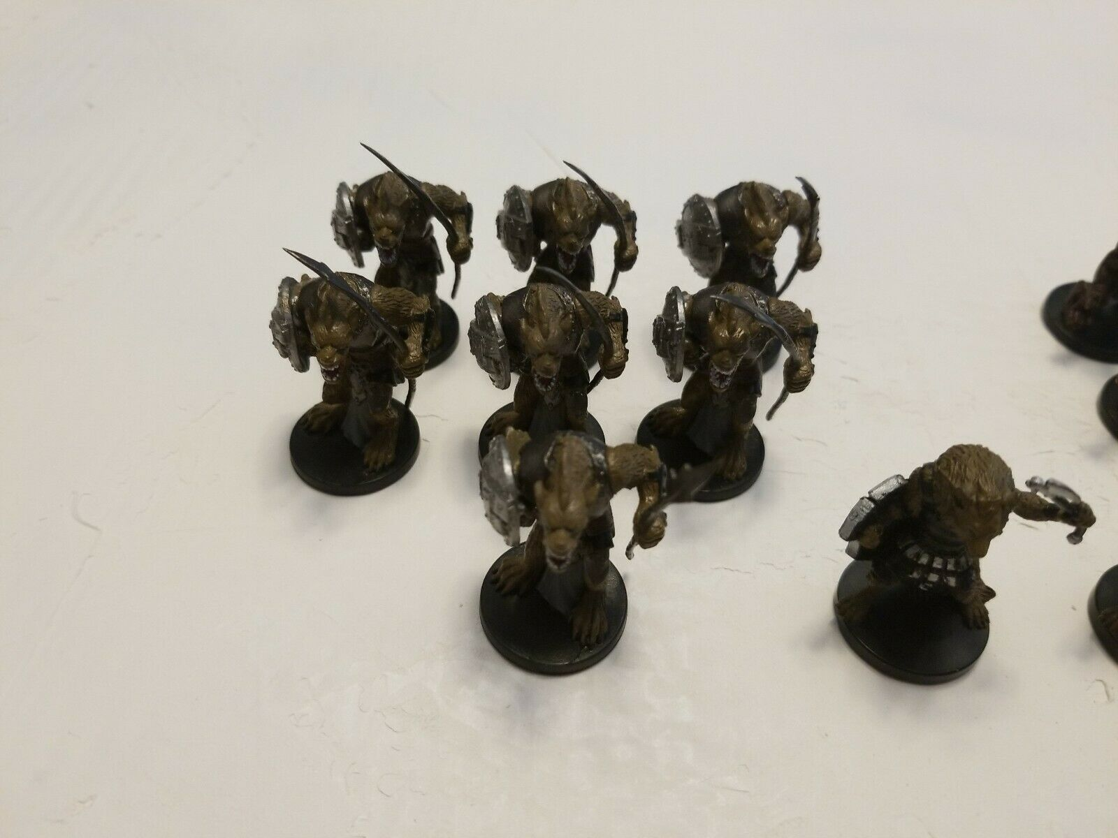 Dungeons and Dragons Gnoll and beast aWar party