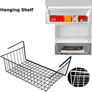 Storage-Wall-Hanging-Shelf-Basket-Holder-Organiser-Cupboard-Kitchen-Rack-Cabinet