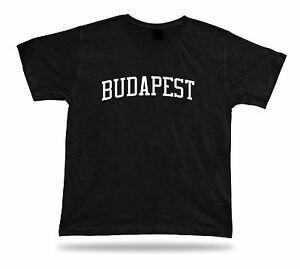 Logique T-shirt élégant Classic Apparel Grande Idée De Cadeau Casual Budapest Hongrie Hôtel-afficher Le Titre D'origine