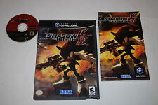 Shadow the Hedgehog Nintendo GameCube Video Game Complete