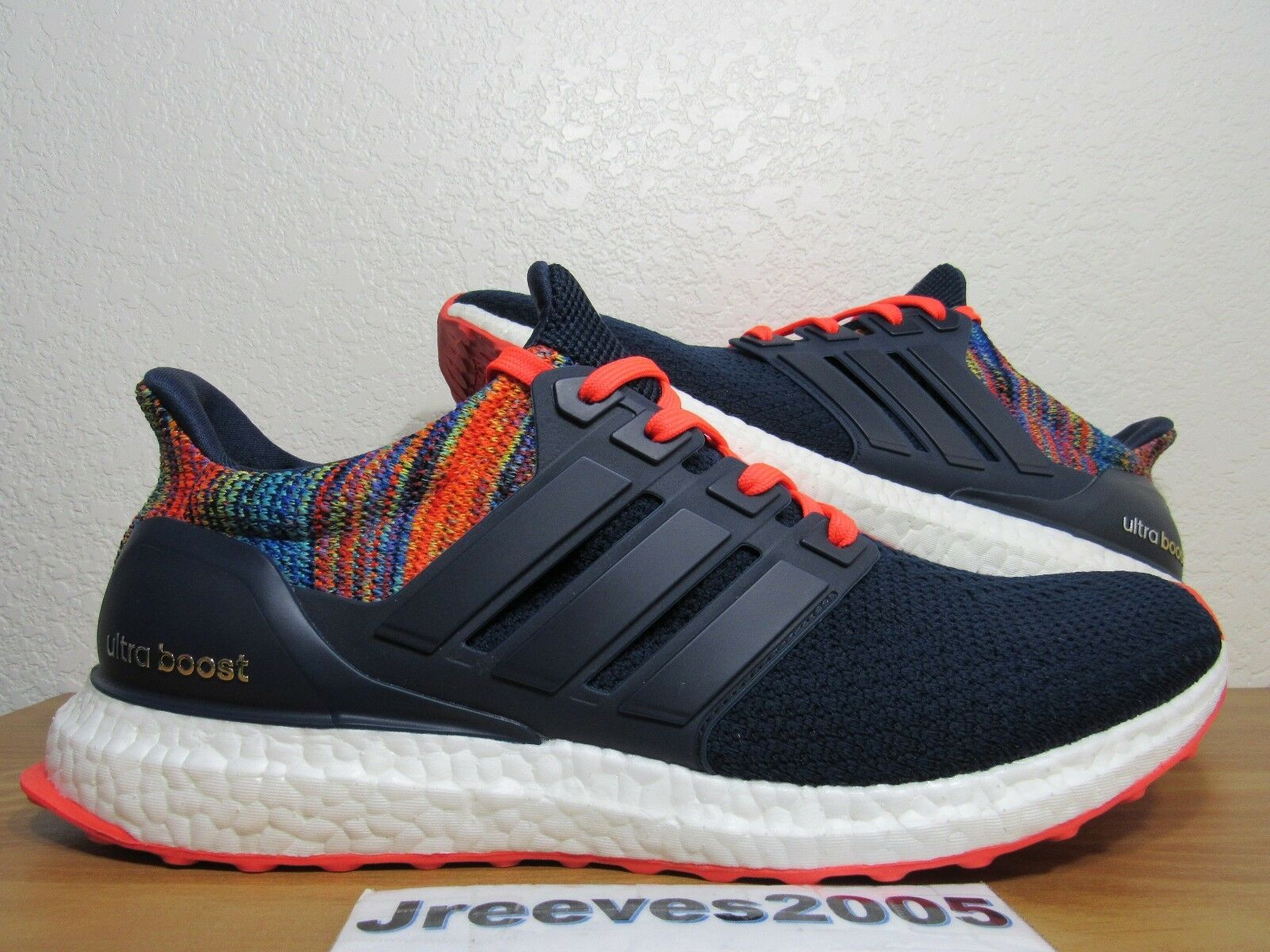 Mi Adidas Ultra Boost MULTICOLOR Sz 10.5 100% Auth. 1st Release Limited