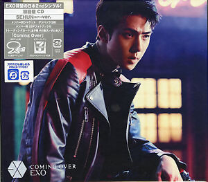 EXO-COMING-OVER-SEHUN-VER-JAPAN-CD-Ltd-Ed-C94