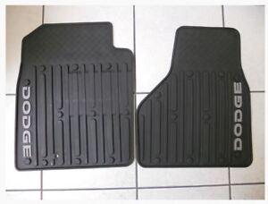 DODGE RAM QUAD CAB Front Dark Slate Gray Slush Mats NEW OEM MOPAR
