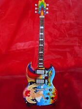 Eric Clapton Tribute Miniature Guitar (UK SELLER)