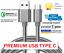CAVO-USB-3-1-TYPE-C-SMARTPHONE-RICARICA-DATI-VELOCE-SAMSUNG-GALAXY-HUAWEI-90 miniatura 1