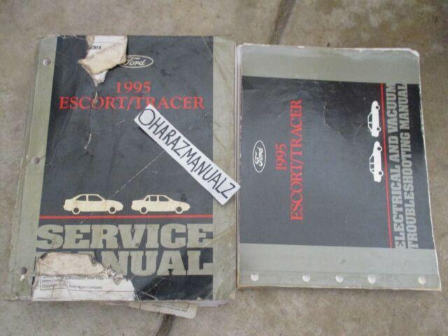 [DIAGRAM_4PO]  1995 Ford Escort Mercury Tracer Wiring Diagram & Service Manuals Manual OEM  | eBay | 1991 Mercury Tracer Diagram Wiring Schematic |  | eBay
