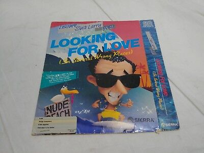 Adaptable Leisure Suit Larry Goes Looking For Love Game Case For The Amiga Punctual Timing