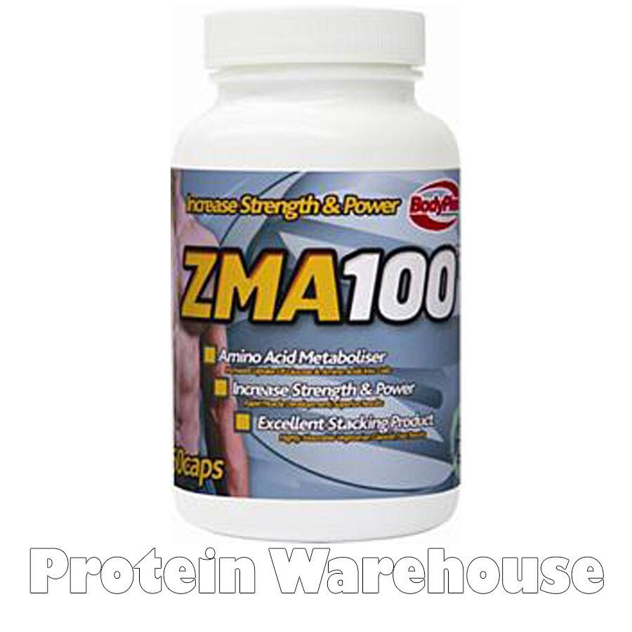 Bodyplex ZMA Capsules 100 60 Capsules ZMA Zinc Magnésium Testostérone Booster dcb952