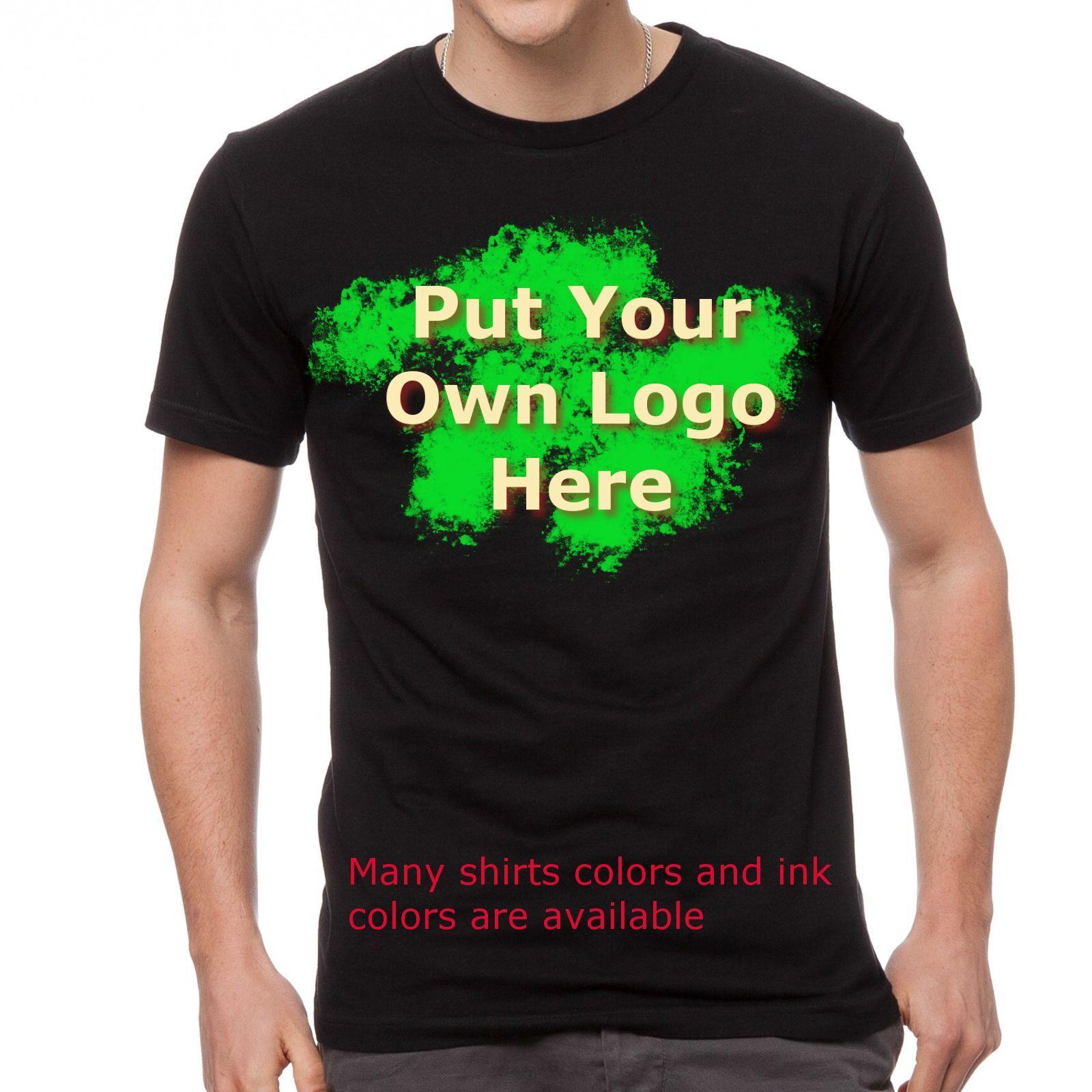 36 Custom Screen Printed Personalized Short Sleeve T-shirts, Gildan Fast Service