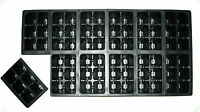 Seed Starting Tray Inserts, 720 Cells, Growing Supply, Seed Propagation 10 Trays