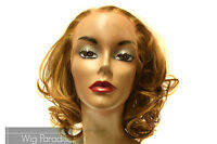 Aplus Ozone Soft Curls Waves Lace 004 Futura Heat Friendly Lace Front Wig