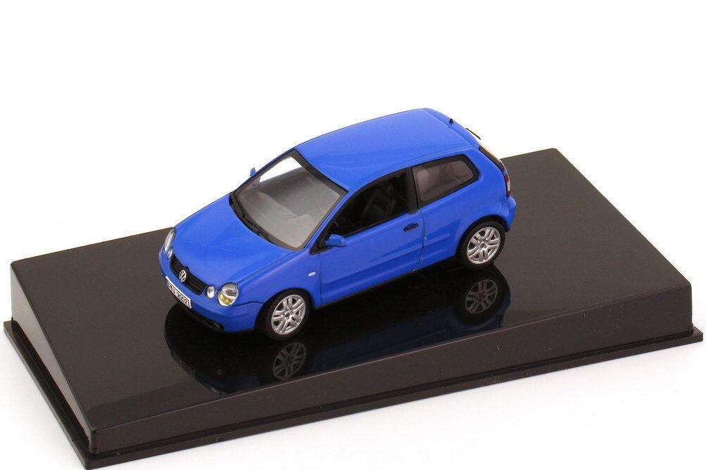 VOLKSWAGEN VW POLO IV 4 2002 9N SUMMER bleu AUTOart 1 43 NEW GERMANY bleu BLEU