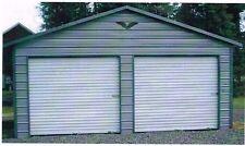 2 Car Metal Garage 24x21x8 2 Win Amp Wi Door Free Del Amp Install Prices Vary