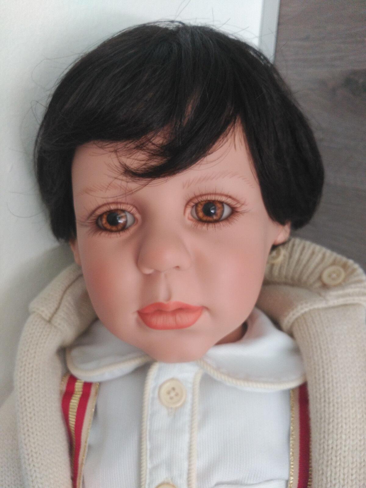 Muñeco maniquí maniquí maniquí realista toddler MasterPiece vinyl 78cms by Fayzah Spanos.  preferente