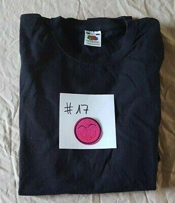 #17 Fruit Of The Loom T-shirt Langarmshirt Longsleeve Schwarz Gr. 152