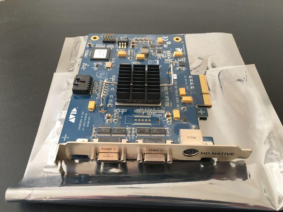Pro tools HD Lydkort + 192 audio interface, Avid /