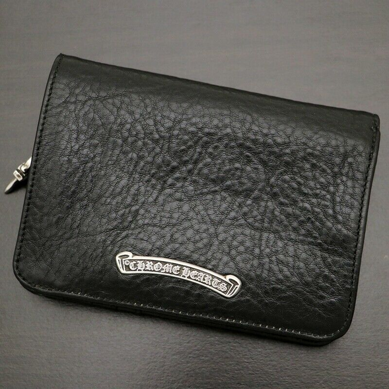 Chrome Hearts Chromehearts With Warranty Joey Wallet Bi-Fold Magnet Secondhand