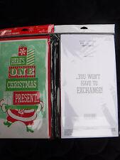 Hallmark Christmas Cards Gift Card Money Holder Cards w Envelopes 12 PAK PRESENT