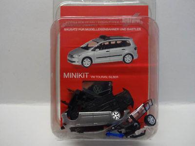 Silber Herpa Minikit 013048-1//87 Vw Touran Neu Polizei