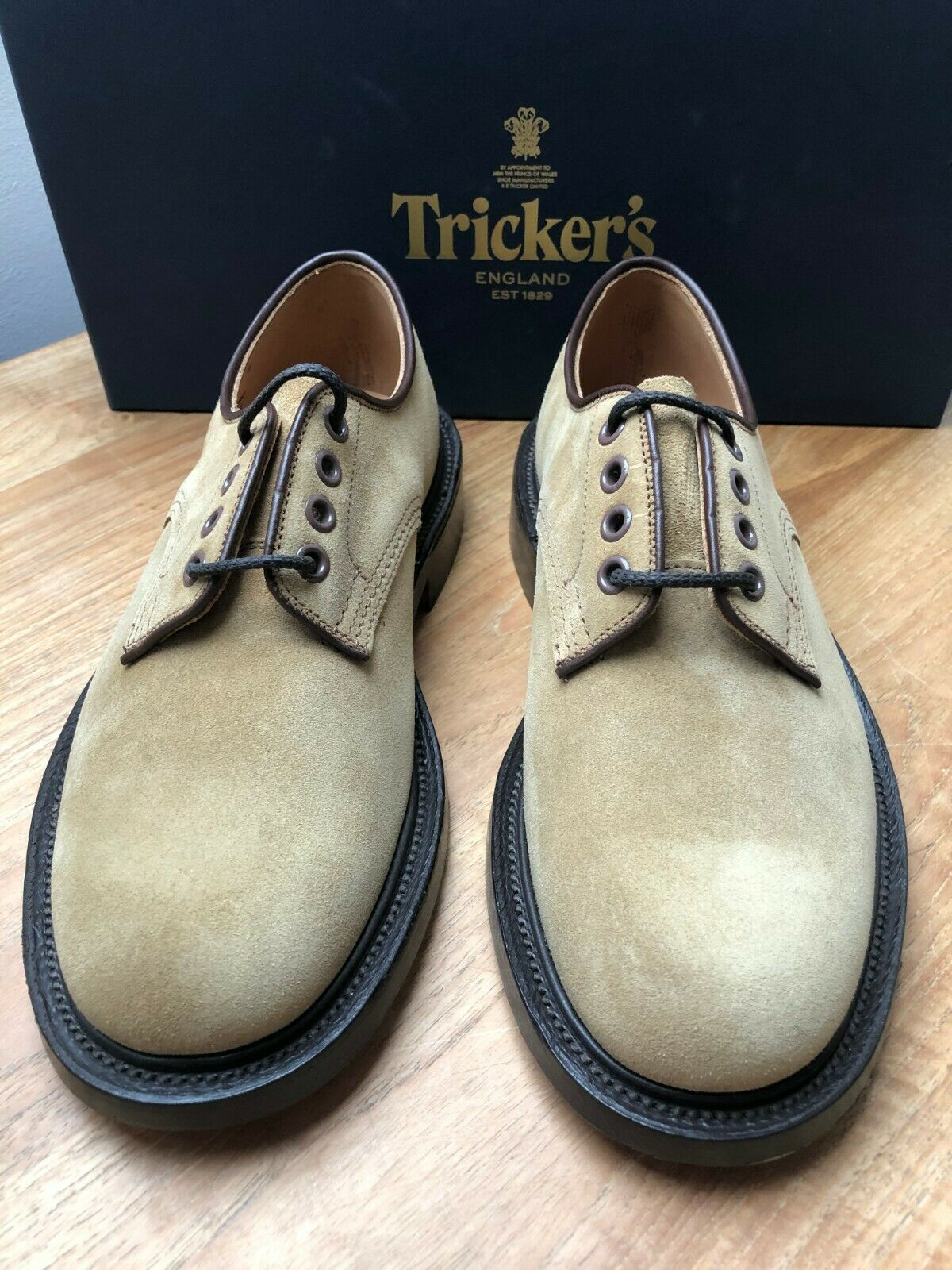 TRICKERS, Repello Goucho Suede Shoes, UK:6, EU:40, RRP ! NEW & BOXED